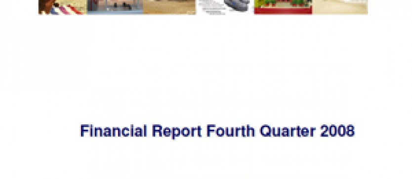 Financial Report Forus 4Q 2008