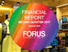 Financial Report Forus 2Q 2017