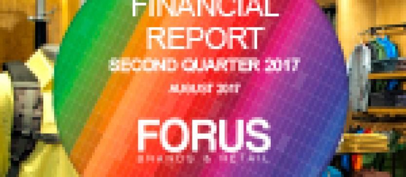 (English) Financial Report Forus 2Q 2017