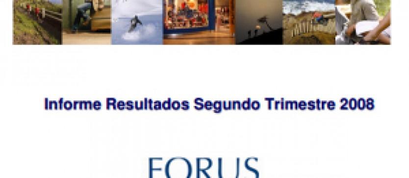 Financial Report Forus 2Q 2008