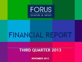Financial Report Forus 3Q 2013