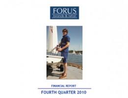 Financial Report Forus 4Q 2010