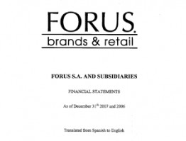 P&L Forus Full Year 2007