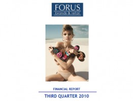 Financial Report Forus 3Q 2010