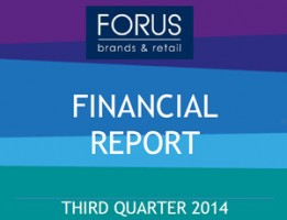 Financial Report Forus 3Q 2014
