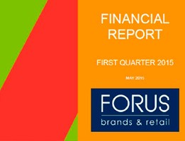 Financial Report Forus 1Q 2015