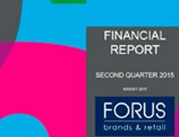 Financial Report Forus 2Q 2015