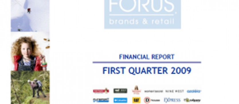 Financial Report Forus 1Q 2009