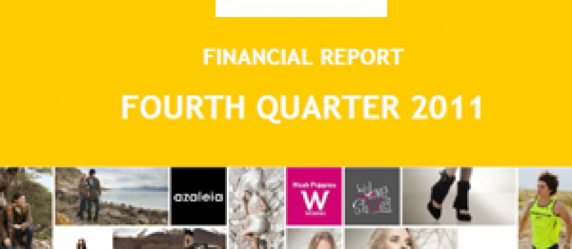 Financial Report Forus 4Q 2011