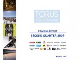 Financial Report Forus 2Q 2009