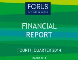 Financial Report Forus 4Q 2014