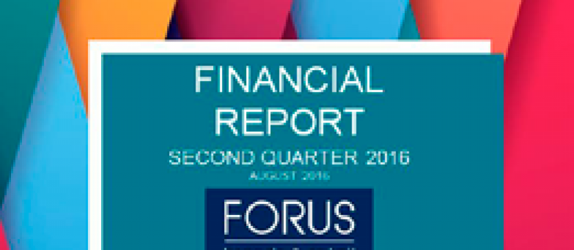 Financial Report Forus 2Q 2016