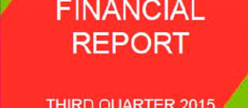 Financial Report Forus 3Q 2015