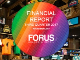 Financial Report Forus 3Q 2017