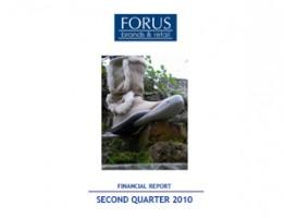 Financial Report Forus 2Q 2010