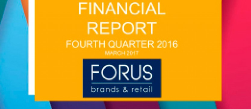 (English) Financial Report Forus 4Q 2016