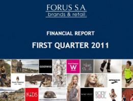 Financial Report Forus 1Q 2011