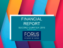 (English) Financial Report Forus 2Q 2016