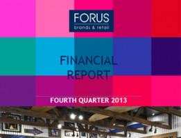 Financial Report Forus 4Q 2013