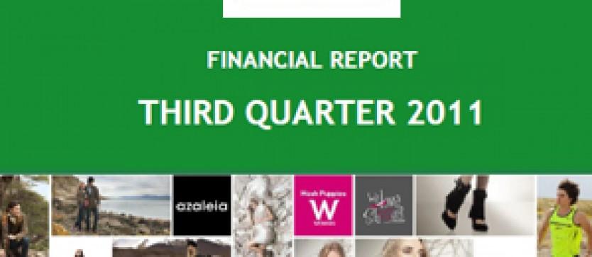 Financial Report Forus 3Q 2011