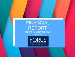 Financial Report Forus 1Q 2016