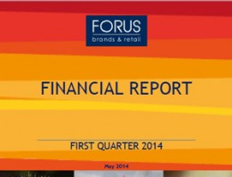 Financial Report Forus 1Q 2014