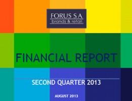 Financial Report Forus 2Q 2013