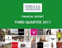 Financial Report Forus 3Q 2011