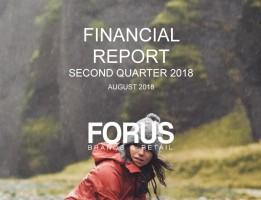 Forus 2Q 2018