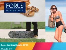 (English) Forus 4Q Presentation 2016