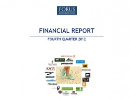Financial Report Forus 4Q 2012