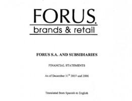 P&L Forus Full Year 2007