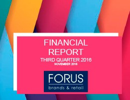 (English) Financial Report Forus 3Q 2016