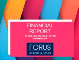 Financial Report Forus 3Q 2016