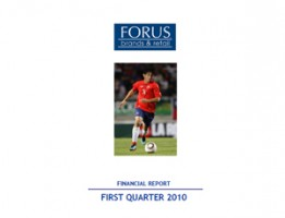 Financial Report Forus 1Q 2010
