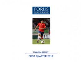 Financial Report Forus 1Q 2010