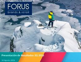 (Español) Forus 2Q16 Larrain Vial Agosto 2016
