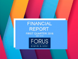 Financial Report Forus 1Q 2016