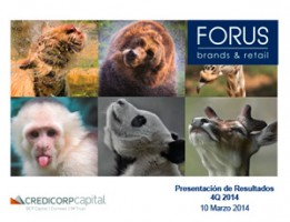 Forus – 4Q14 Credicorp – 10 Marzo 2015