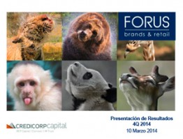 (Español) Forus – 4Q14 Credicorp – 10 Marzo 2015