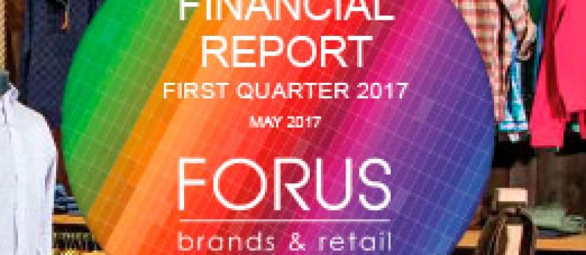 (English) Financial Report Forus 1Q 2017