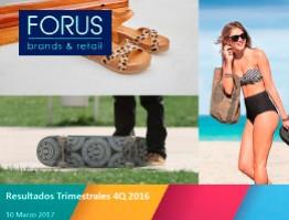Presentación 4Q16 Credicorp – Forus