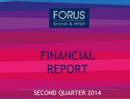 Financial Report Forus 2Q 2014