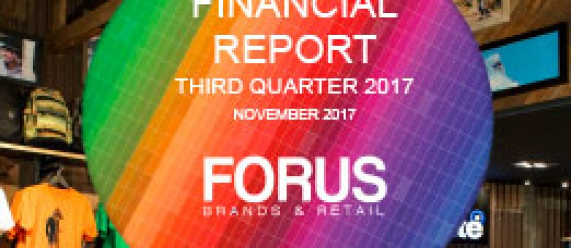 (English) Financial Report Forus 3Q 2017